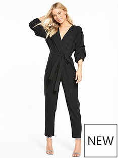 miss-selfridge-pinstripe-sleeve-detail-jumpsuit