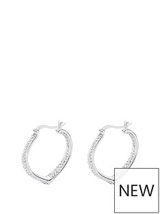 love-silver-sterling-silver-double-crystal-set-heart-shaped-creole-earrings