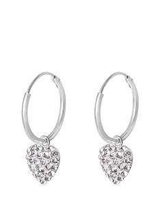 the-love-silver-collection-sterling-silver-12mm-hinged-hoops-with-crystal-pave-heart-charm