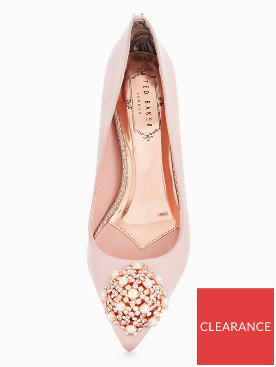 4d2b8fead63 ... Ted Baker Dahrlin Jewel Court Shoe. View larger