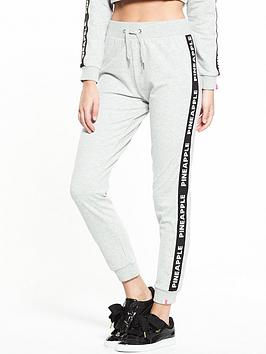 miss-selfridge-pineapple-mono-elastic-jogger-grey-marl