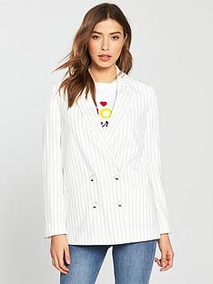 miss-selfridge-pinstripe-blazer