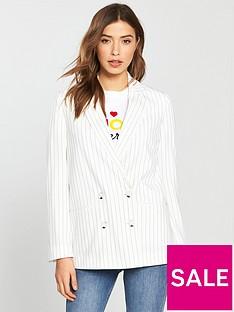 miss-selfridge-pinstripe-suit-blazer
