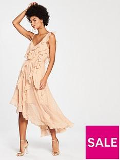 v-by-very-frill-dobby-maxi-dress