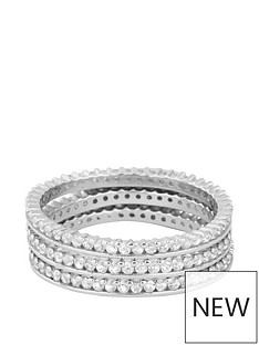 love-silver-sterling-silver-cubic-zirconia-3-stacking-ring