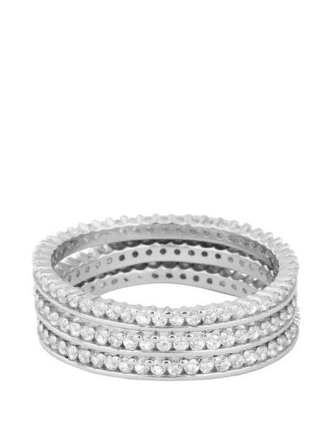 the-love-silver-collection-sterling-silver-cubic-zirconia-3-stacking-rings