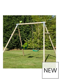 tp-knightswood-double-swing-set-with-quad-pod-amp-deluxe-seat