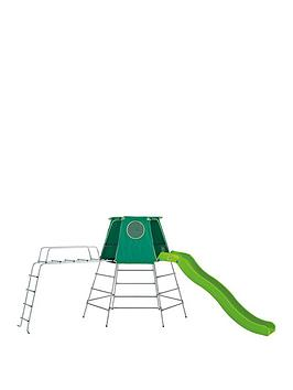 tp-explorer-metal-climbing-frame-set-with-slidejungle-run