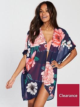 v-by-very-pom-pom-trim-kaftannbsp--floral-print