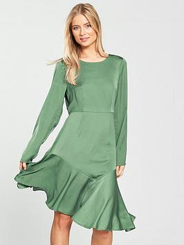 Vero Moda Elsa Asymmetrical Dress - Ivy