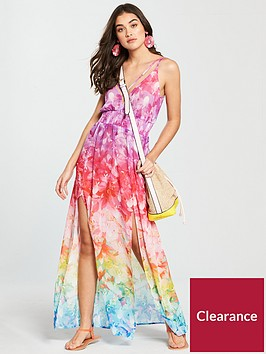 v-by-very-split-hem-floaty-beach-maxi-dress-print