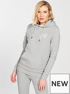 sik-silk-fitted-overhead-hoodie-grey-marl