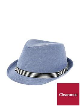 monsoon-denim-colourblock-trilby-hat