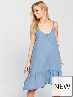 vero-moda-judy-strappy-denim-dress-light-blue