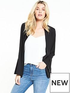 vero-moda-neap-wide-sleeve-blazer-black