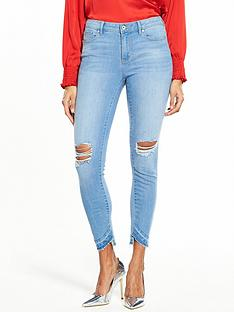 vero-moda-seven-unever-fold-down-ankle-jean-light-blue