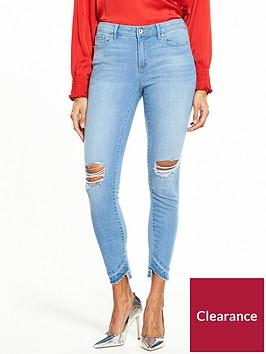 vero-moda-seven-unever-fold-down-ankle-jean-light-blue