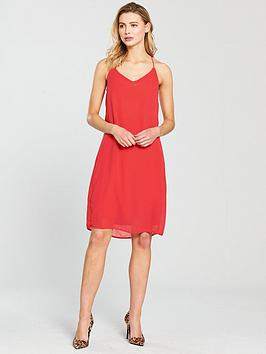 Vero Moda Diana Cami Slip Dress - Poppy Red