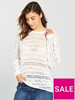 noisy-may-tam-long-sleeve-crochet-knit-jumper-snow-whitenbsp