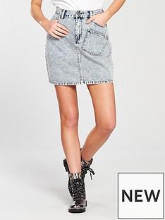 noisy-may-sophia-short-denim-skirt