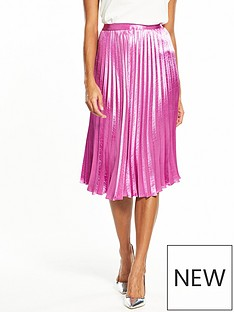 vero-moda-nedaly-pleated-skirt-mauve