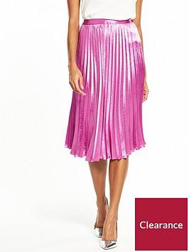 vero-moda-nedaly-pleated-skirt-mauve