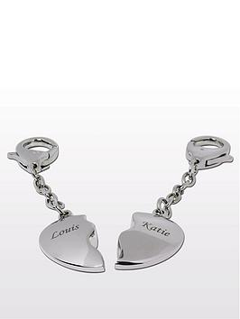personalised-2-heart-keyrings