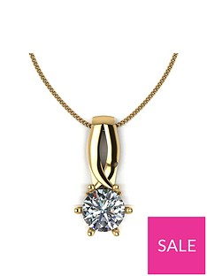 moissanite-lady-lynsey-9ct-gold-1ct-round-brilliant-moissanite-kiss-pendant-and-chain
