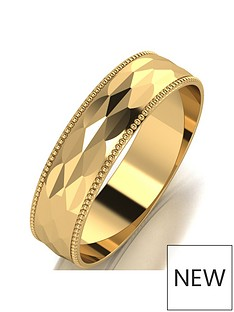 love-gold-9ct-gold-patterned-5mm-d-shaped-wedding-band