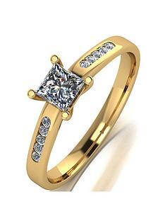 love-diamond-love-diamond-9ct-gold-princess-cut-centre-50pts-total-diamond-solitaire-ring