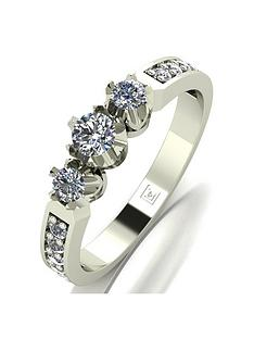 love-diamond-love-diamond-9ct-white-gold-50pts-total-3-stone-centre-diamond-trilogy-ring