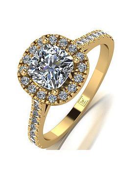moissanite-moissanite-premier-9ct-gold-15ct-eq-total-cushion-cut-centre-halo-ring-with-diamond-set-logo