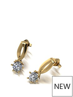 moissanite-9ct-gold-signature-kiss-1ct-eq-round-brilliant-solitaire-earrings