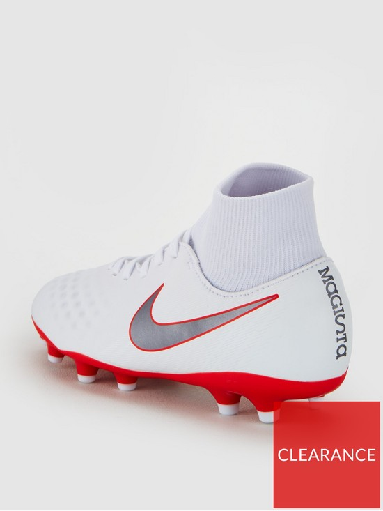 5218c98bdd0 ... Nike Junior Magista Obra 2 Academy Dynamic Fit Firm-Ground Football  Boot - White. View larger