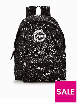 hype-hype-black-amp-white-speckle-classic-backpack