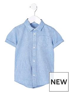river-island-mini-boys-blue-linen-blend-shirt