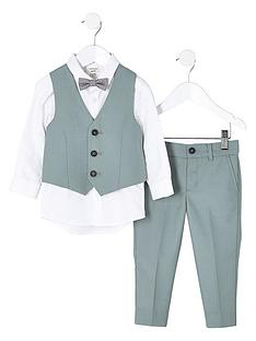 river-island-mini-boys-green-sage-suit-set