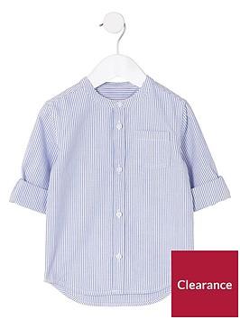 river-island-mini-mini-boys-blue-grandad-shirt