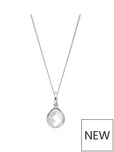 the-love-silver-collection-sterling-silver-white-topaz-semi-precious-april-birthstone-pendant