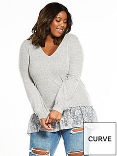 v-by-very-curve-lace-hem-jumper