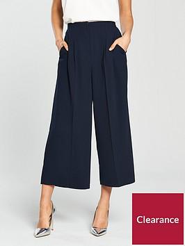 miss-selfridge-cropped-palazzo-pants-navynbsp