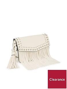 miss-selfridge-fringe-cross-body-bag-cream