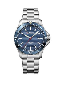 wenger-wenger-swiss-made-seaforce-200m-blue-43mm-date-dial-stainless-steel-bracelet-mens-watch
