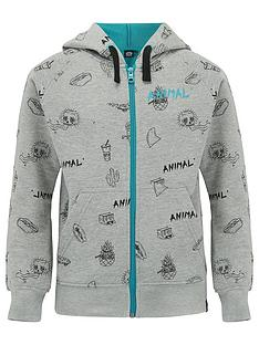 animal-boys-grey-marl-full-zip-hoodie