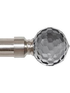 crystal-effect-finial-extendable-curtain-pole-90-160-cm