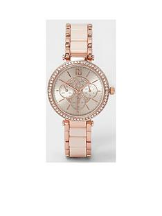 river-island-slim-dinky-watch--pink