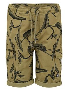 animal-boys-green-cargo-shorts