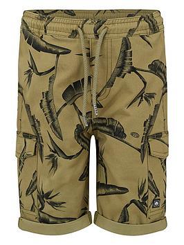 animal-boys-green-cargo-shorts