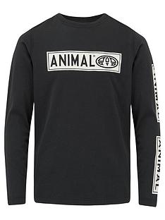 animal-boys-black-long-sleeve-tee