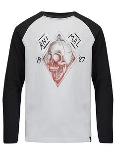 animal-boys-black-long-sleeve-raglan-tee